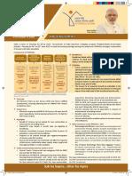 PMAY Single Leaflet