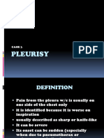 Pleurisy