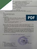 Surat Edaran Tentang Syarat Pencairan Dana PIP 2015