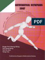 Singapore Mathematical Olympiads 2007 (by Roger Kheng Et Al)