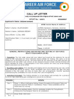 Career Air Force-India (Candidate Section)