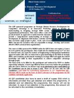 1. Strategic Human Resource Development