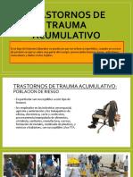 Trastornos de Trauma Acumulativo - Copia