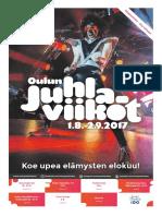 Oulun juhlaviikot 2017 Ohjelmalehti 2