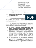Guidelines for the Formulation of Annual Development Program ADP 2016 17