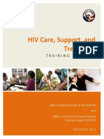 Peace Corps HIV Care TP Introduction to the HIV Care Support and Treatment Training Package
