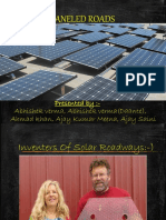 Solar Pannel Roadways