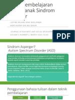 Teknik Pembelajaran Kanak-kanak Sindrom Asperger.pptx