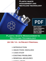 plastic waste management and recycling technology