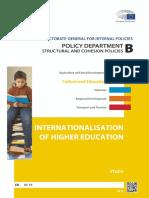 EC Internationalization of Higher Education IPOL STU(2015)540370 En