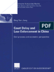 Court Delay and Enforcement in China