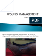 WOUND MANAGEMENT LOWER LEG.ppsx