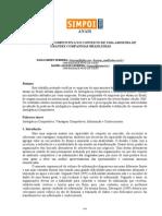 A INTELIGÊNCIA COMPETITIVA NO CONTEXTO DE UMA AMOSTRA DE GRANDES COMPANHIAS BRASILEIRAS