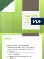oksigen terapi