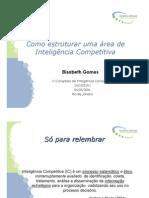 Como estruturar uma área de Inteligência Competitiva