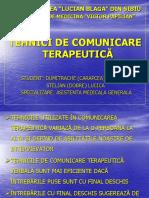 TEHNICI TERAPEUTICE.pps