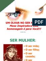 Um Olhar No Ser Mulher