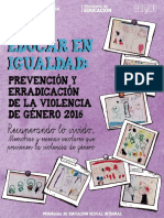 Cuadernillo Educar en Igualdad 2017