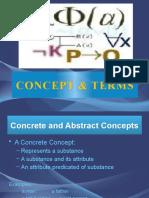 Concept & Terms