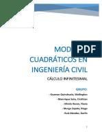 TRABAJO CALCULO-Modelos Cuadráticos en Ingeniería Civil
