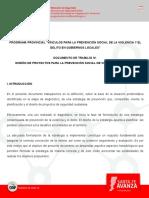 Diseño de Proyectos Para La Prevención Social de Violencias y Delitos