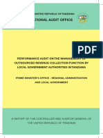 Management of Outsourced Revenue Collection Function by Local Governments (2012)