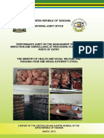 Management of Food Inspection in Tanzania