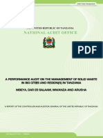 Solid Waste Management in Big cities of Tanzania