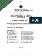 PPC Ciências Naturais e Matemática - Matemática (1)