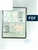 Passport Copy for Mr. Peter