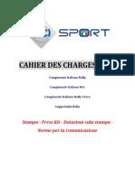 Cahier Des Charges ACI SPORT  2017