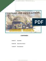 Manual Seguridad Operacion Mantenimiento Camiones Mineros