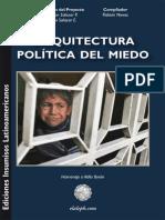 Arquitectura Política Del Miedo