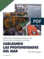 Tendido de Cables Submarinos