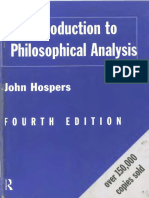 John Hospers-An Introduction to Philosophical Analysis - Fourth Edition (1997)