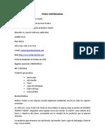 Perfil Empresarial MOLINO MIURA 2017