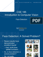 Introduction to Computer Vision - Face Detection
