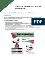 Boletín de Seguridad de Kaspersky 2016