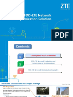 ZTE FDD-LTE Network Optimization Solution_R1.0_20160630