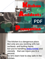 Kitchen Accidents & Preventions