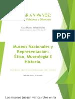 """Taller sobre el texto """"Museos Nacionales y representación. Ética, Museología e Historia"""""""