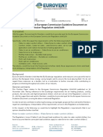 PP - 2017-04-12 - Eurovent Input for the European Commission Guideline Document on the European Commission Regulation 2016 2281