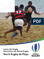 Beach Touch Rugby ES
