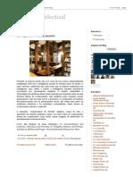 A Vida Intelectual_ Inteligência e Conhecimento