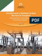EDM Caracterização e Qualidade Técnica Da Rede Nacional de Transporte 2011 Interativo