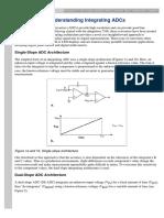 Understanding Integrating ADCs