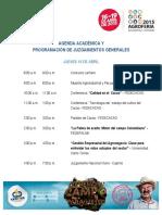 Agenda Academica Agroferia2015