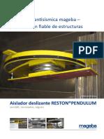 Aislador Antisismico Prospect Reston Pendulum Int Es
