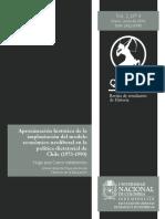 Aproximación histórica de la implantación del modelo económico neoliberal en la política dictatorial de Chile (1973-1990)