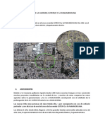 PROBLEMATICA CRUCE DE LA AVENIDA CUTERVO Y LA PANAMERICANA ICA UBICACIÓN